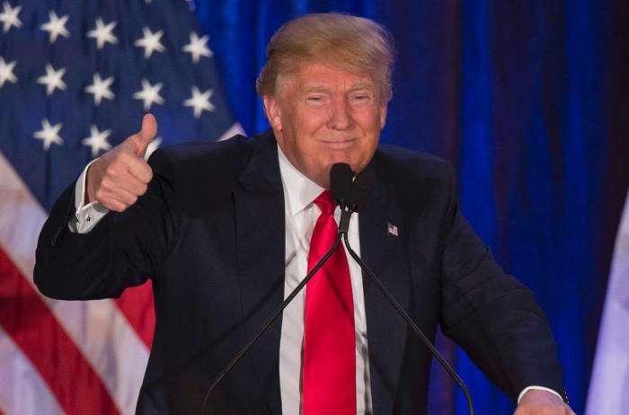 特朗普9日当选美国45任总统