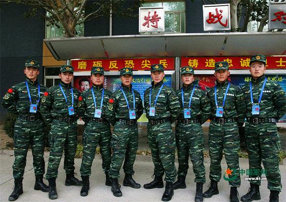 武警8650部队.-中国武警特战排行榜震撼发布 雪豹 只排第6图片