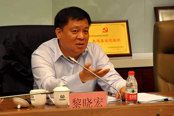 ――黎晓宏,在2013年5月任中国证券监督管理委员会纪委书记时曾担任过第一轮第七巡视组副组长,从2013年10月起任中央巡视工作领导小组办公室主任。因此,虽然他的名字没有再出现在后面十轮的巡视组组长名单上,却以新的更重要的身份参加了后面十轮巡视工作,在历次巡视中都要参加多个单位的巡视动员会和情况反馈会,并对被巡视单位做好巡视工作提出要求。
