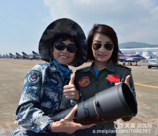 部队拍摄师昨忽然接到空军讲话人微信:赶快找出余旭同道相片