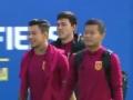 视频-集训十天凑齐人马 中国男足伤员恢复良好