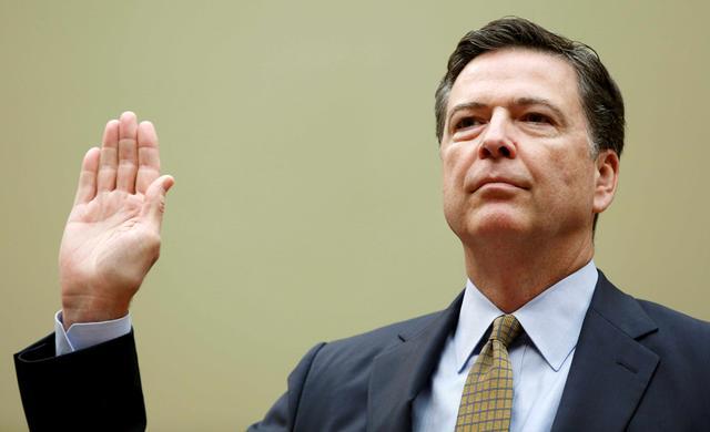 图:FBI局长科米