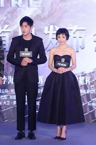 张若昀《冲天火》不用替身 演技征服导演夫人