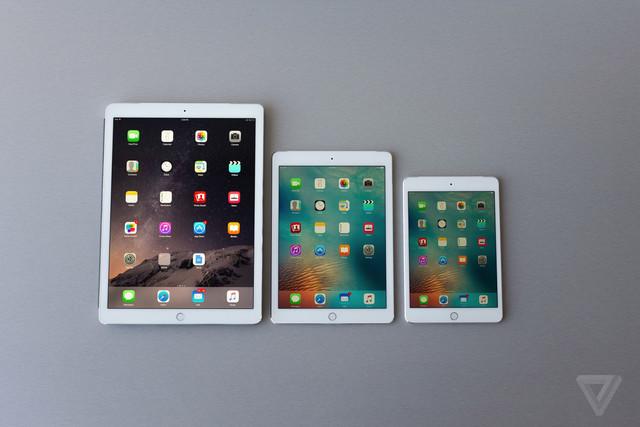 iPad Pro一统江湖 Air和Mini恐将不再