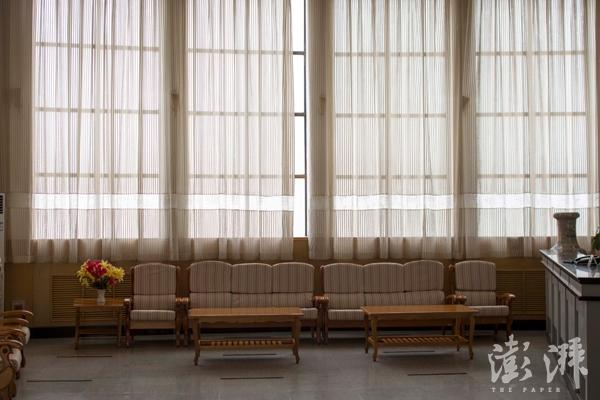 中核集团的宾馆内部一角。