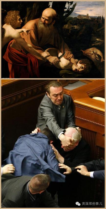 两横一竖就是干!这些年,没练过拳击就别在乌克兰议会混了...