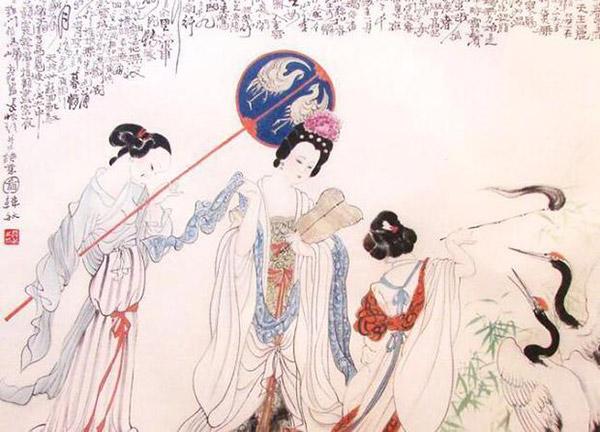 """四大美女之一的杨贵妃,人美,就赶上了这个好时候:""""贵妃每至夏月&"""