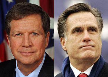 卡西奇和罗姆尼,可能成为第三名总统候选人的两位共和党员