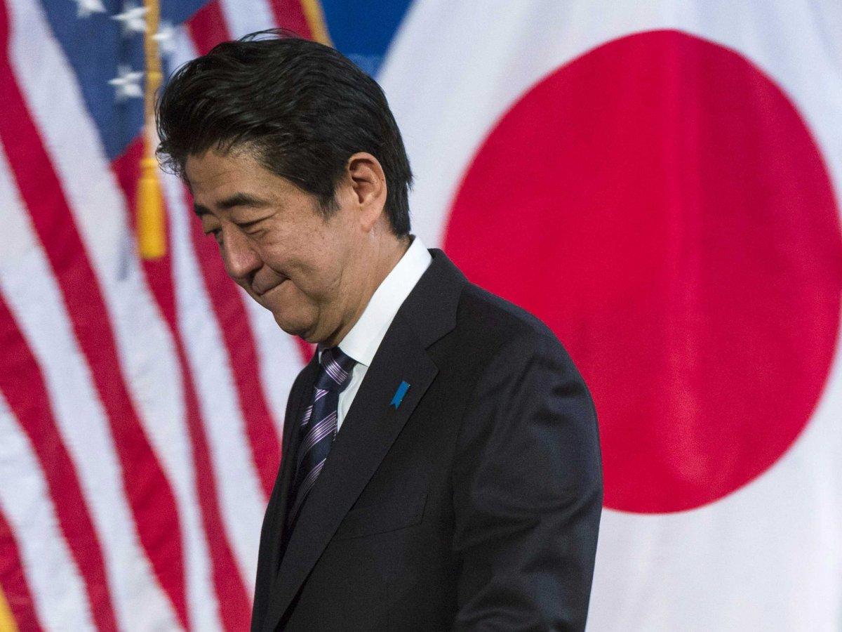 日本首相安倍晋三 资料图