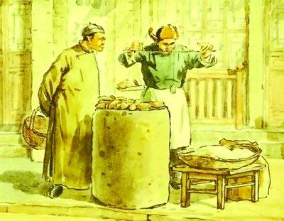 原文配图:老北京烤红薯。