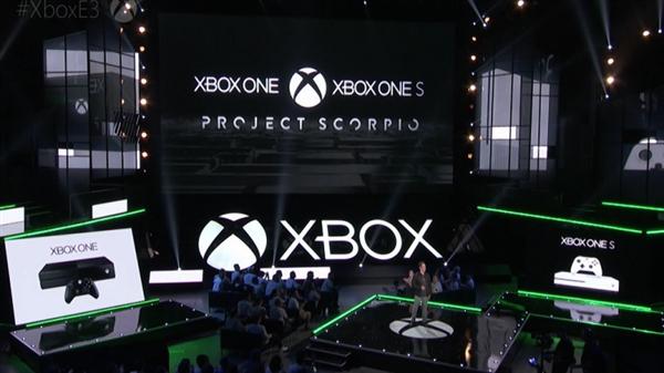 微软:Xbox天蝎座碾压PS4 Pro 差距显而易见