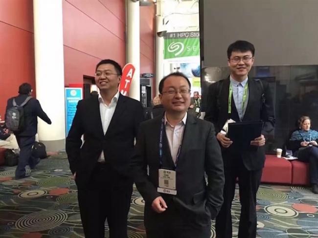 得知获奖后的杨超(图片来源:科学网)