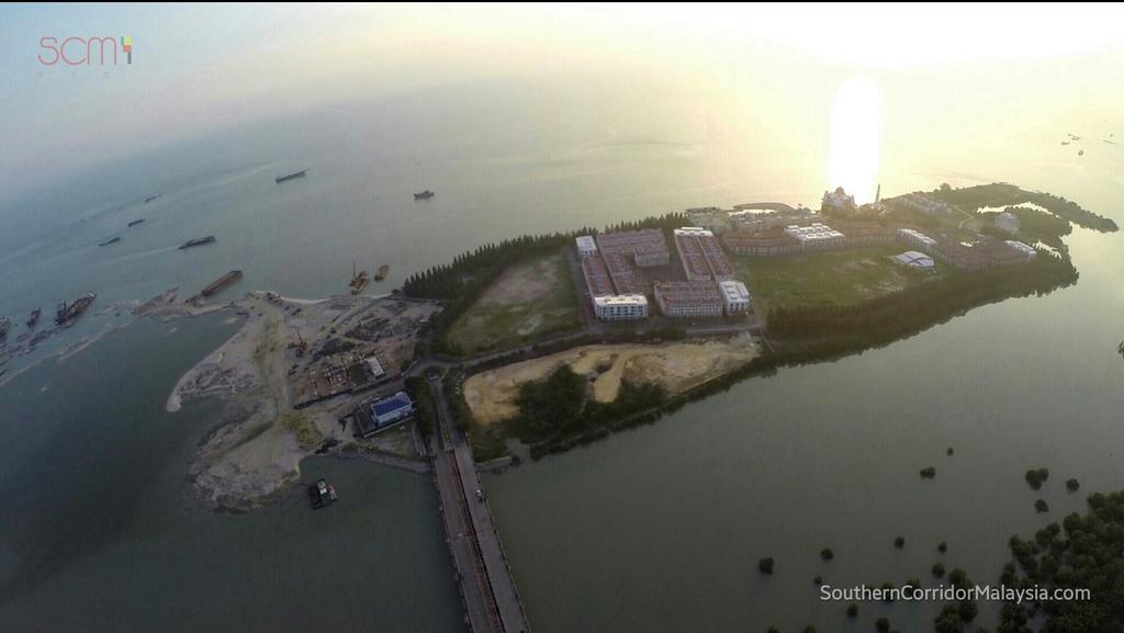 皇京港所在地现状