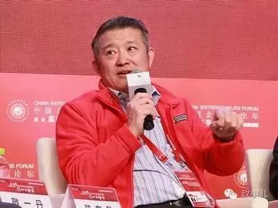 论坛上,陈东升讲到了92派创业给领导送烟的故事。