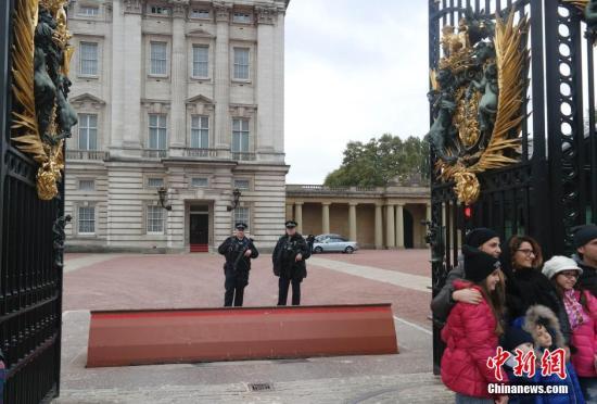 资料图:英国伦敦白金汉宫。 中新社记者 沈晨 摄