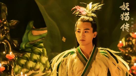 欧豪加盟主演陈凯歌执导的电影《妖猫传》