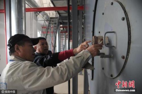 材料图:北京住民供热汽锅焚烧试运转开端。图像来历:视觉国家