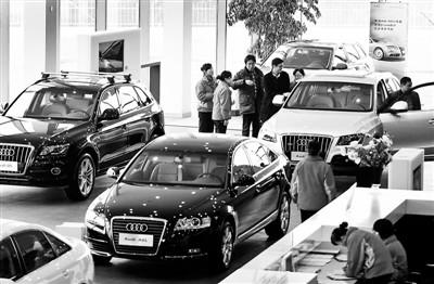 奢华车商场竞争日益剧烈,奥迪经销商面对很大压力 供图/视觉国家