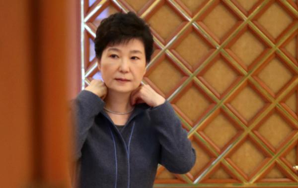 韩国总统朴槿惠。 视觉国家 图