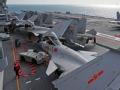 8架歼-15辽宁舰一字排开 收放时间缩短