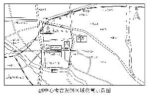 考古发掘区位置示意图