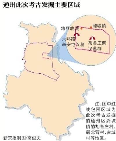 北京通州现汉代古城 发掘战国