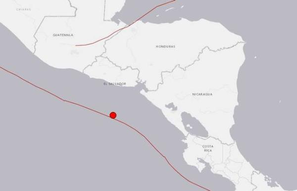 中美洲北部国家萨尔瓦多的特里温福港西南方向149公里处发生里氏7.0级地震,目前暂无人员伤亡报告。