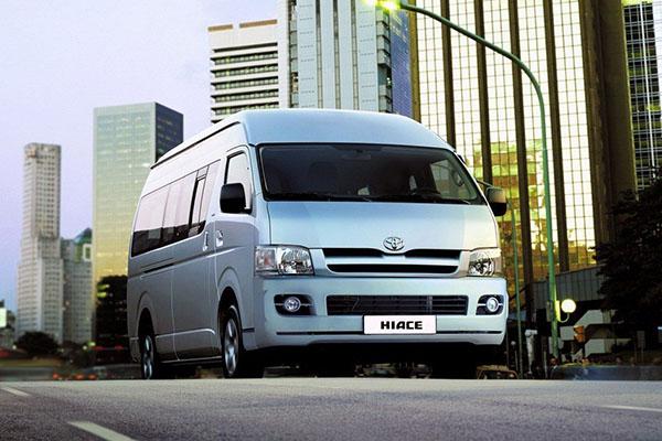 更换改善的油路切换操控杆 丰田召回部分HIACE