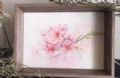 水彩手绘教学:美丽的樱花