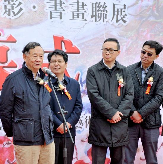 著名摄影家,中国艺术摄影学会杨元惺主席讲话