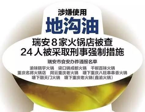 """上过""""舌尖上的中国""""的火锅店 竟因地沟油栽了"""