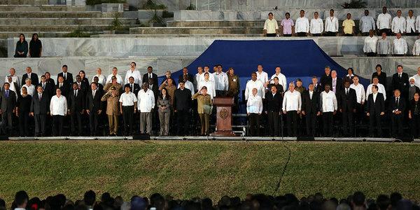 古巴举行卡斯特罗追悼会
