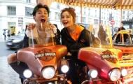 阿Sa嗨唱新歌玩转巴黎街头