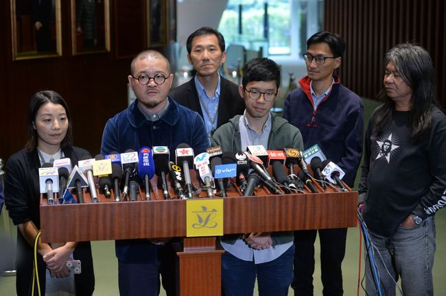 刘小丽等人被提起复核后召开新闻发布会