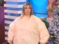 《艾伦秀第14季片花》第六十期 詹妮弗拍打戏称演坏人很爽 穿相扑服搞笑热舞