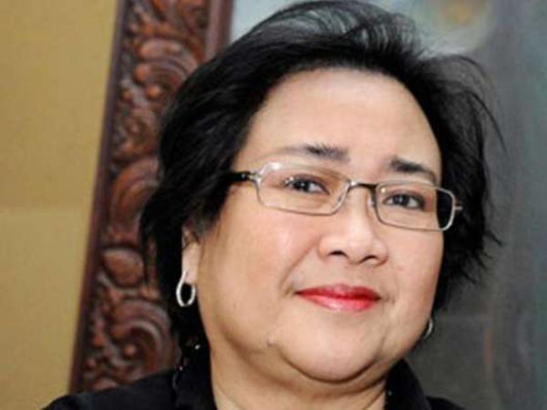 """资料图:拉玛瓦蒂,印尼""""国父""""苏加诺的女儿、前总统梅嘉瓦蒂胞妹"""