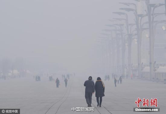 12月4日,京城笼罩在一片灰蒙之中