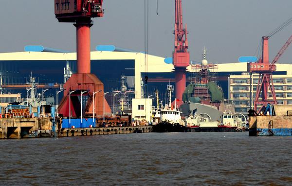 国内船厂6艘052D同时建造