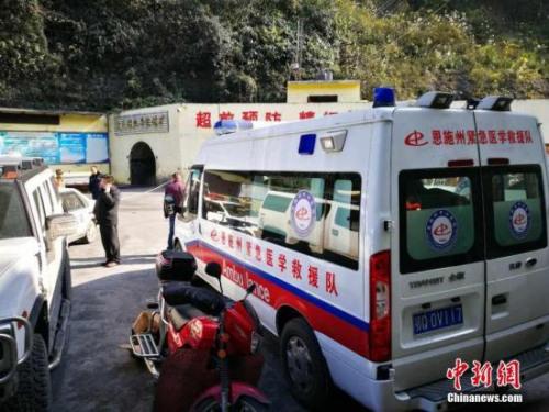 据湖北巴东县官方6日信息,5日晚,该县茶店子镇辛家煤矿+617工作面发生煤与瓦斯突出事故。 钟欣 摄