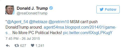 美媒复盘川普3000条推特 喜欢分享耸人听闻的新闻
