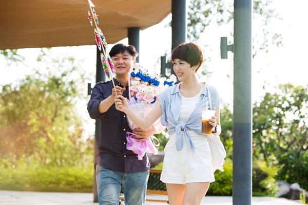 姜妍与肖央