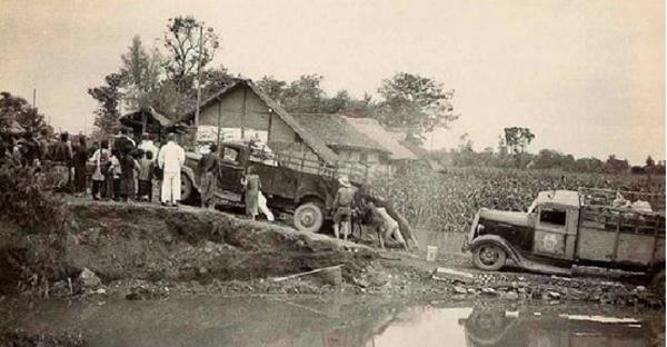 1930年代故宫文物南迁途中