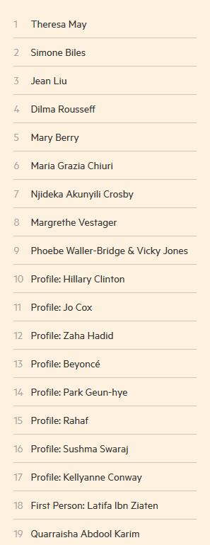 值得留意的是,滴滴出行总裁柳青作为仅有的公司界人士当选该榜,也成为惟一上榜的国家女人。