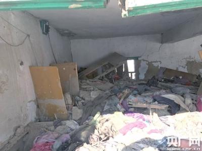 梁金凤和王兴珍遇难的地方仍然保留原状。