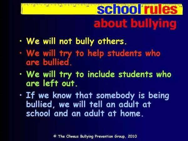 """面对""""校园霸凌"""",看看美国学校怎么做"""