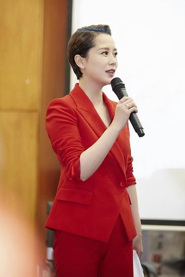 海清发表主题演讲