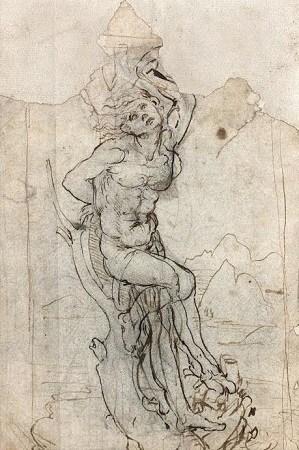 经鉴定,这幅画应出自达·芬奇之手。TAJAN拍卖行