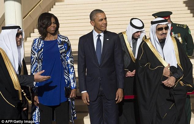米歇尔・奥巴马也曾因服饰问题在沙特引发争议