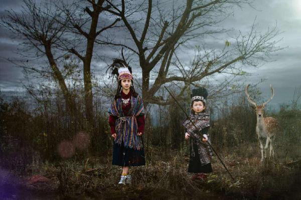 中国人像摄影十杰李炼儿童摄影作品