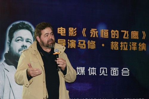 《永恒的飛鷹》抵滬導演稱有信心超越《珍珠港》-搜狐娛樂